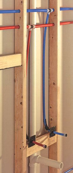 Can You Be Your Own Plumber Yes With The Pex System Northwest Renovation Diy Plumbing Bathroom Plumbing Pex Plumbing