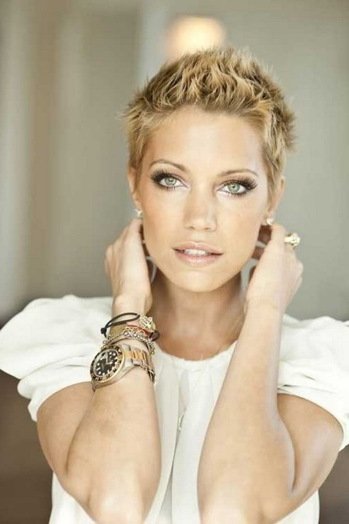 Very Short Spiky Hairstyles For Women Photos Really