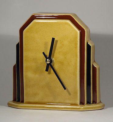 Echo Of Deco Art Deco Ceramic Odeon Mantel Clock