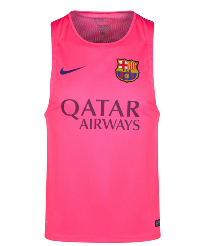 Barcelona Squad Sleeveless Training Top Pink FC Barcelona Official  Merchandise Available at www.itsmatchday.com 50d21711019