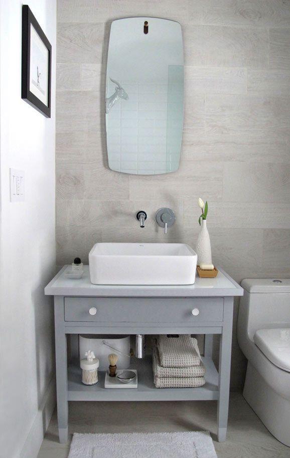 Real Is How We Roll Bathroom Vanity Vanity Old Desks