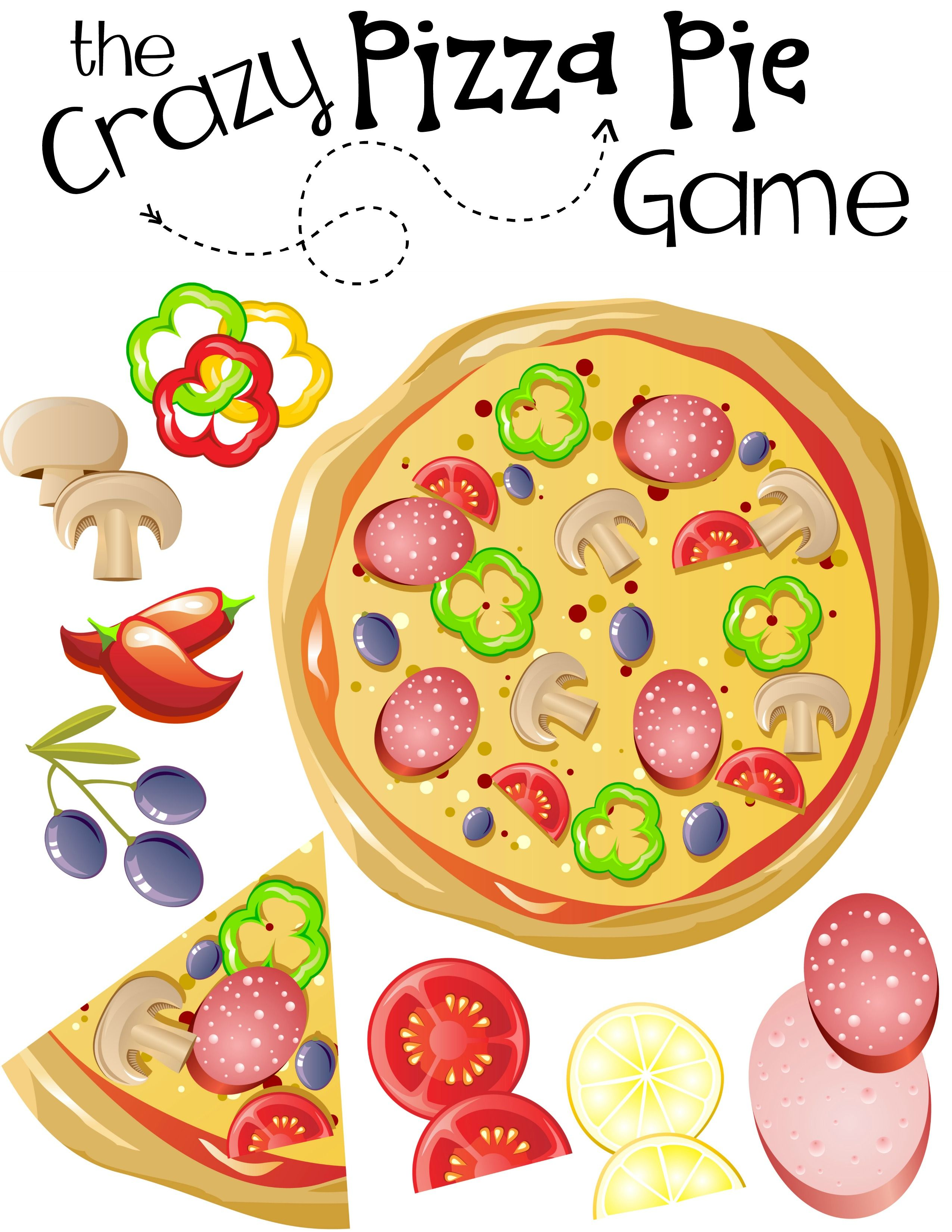 Get Your Kids To Eat More Vegetables Using Pizza With A Free Printable Game Kids Pizza Printable Games For Kids Pizza Games [ 3300 x 2550 Pixel ]
