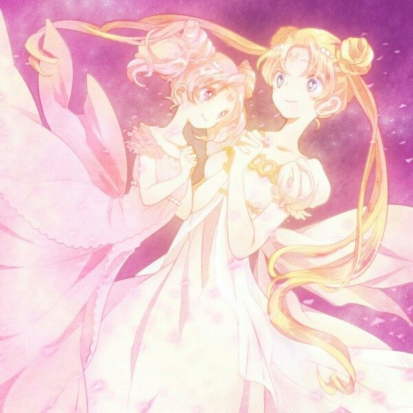 Small Lady and Princess Serenity
