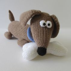 Ravelry: Bangers the Sausage Dog pattern by Amanda Berry
