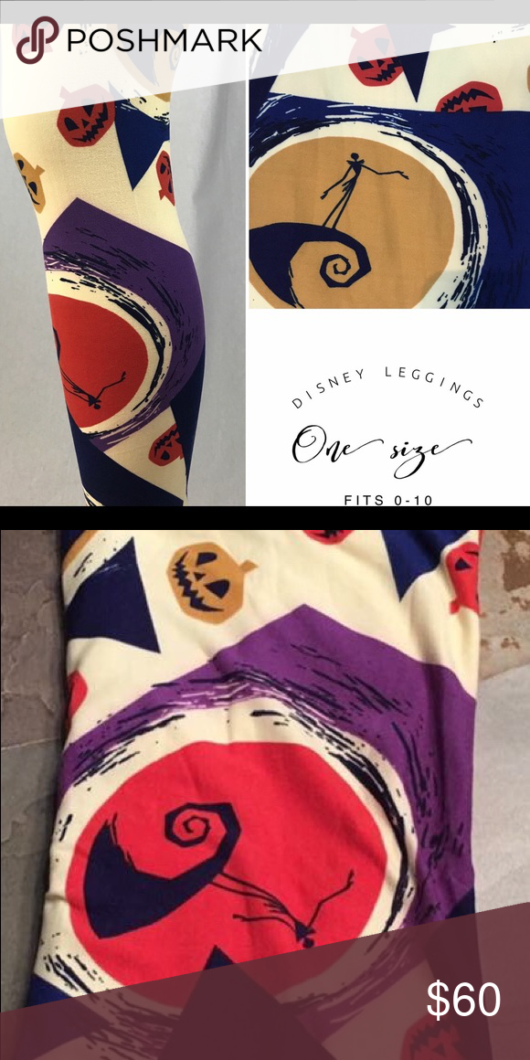 ea46c7b244e4b New Lularoe OS gorgeous Jack Skellington Leggings New Lularoe OS gorgeous  Jack Skellington Leggings LuLaRoe Pants Leggings