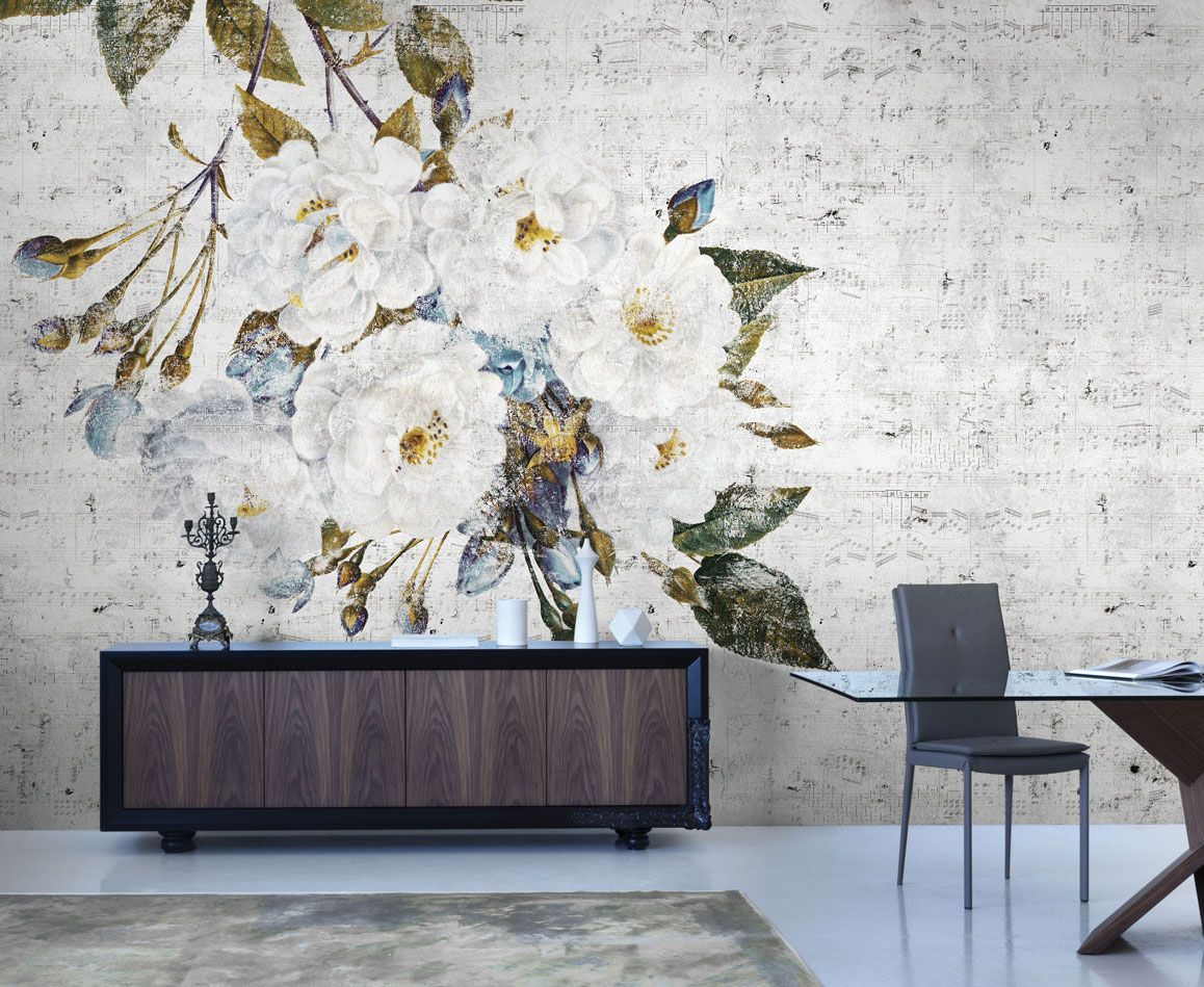 Wallpaper model trouble designed by valeria zaltron for collection