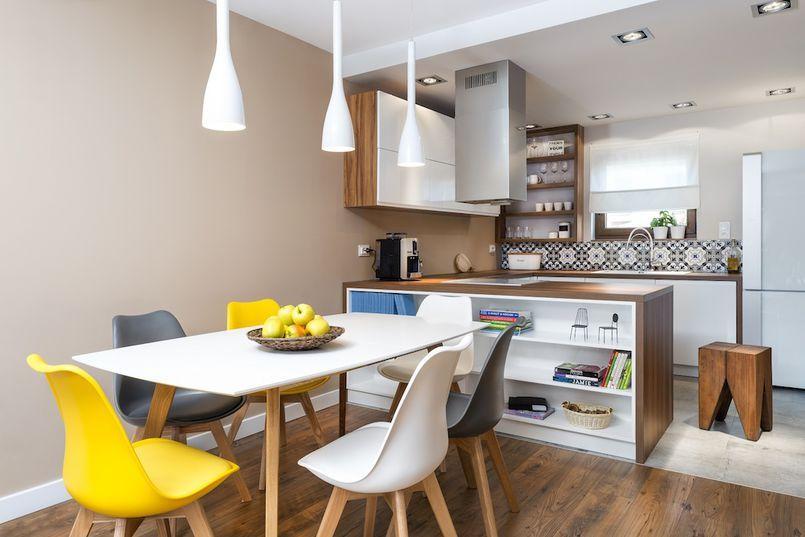 Wyspa Kuchenna Z Polkami Home Decor Home House Design