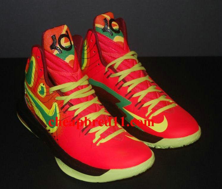 Nike KD V Weatherman on Fire  d70fd22237