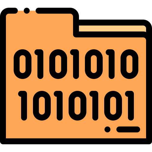 Search Code Interface Symbol Of A Magnifier With Binary Code Numbers Free Vector Icons Designed By Freepik Vector Icon Design Binary Code Coding