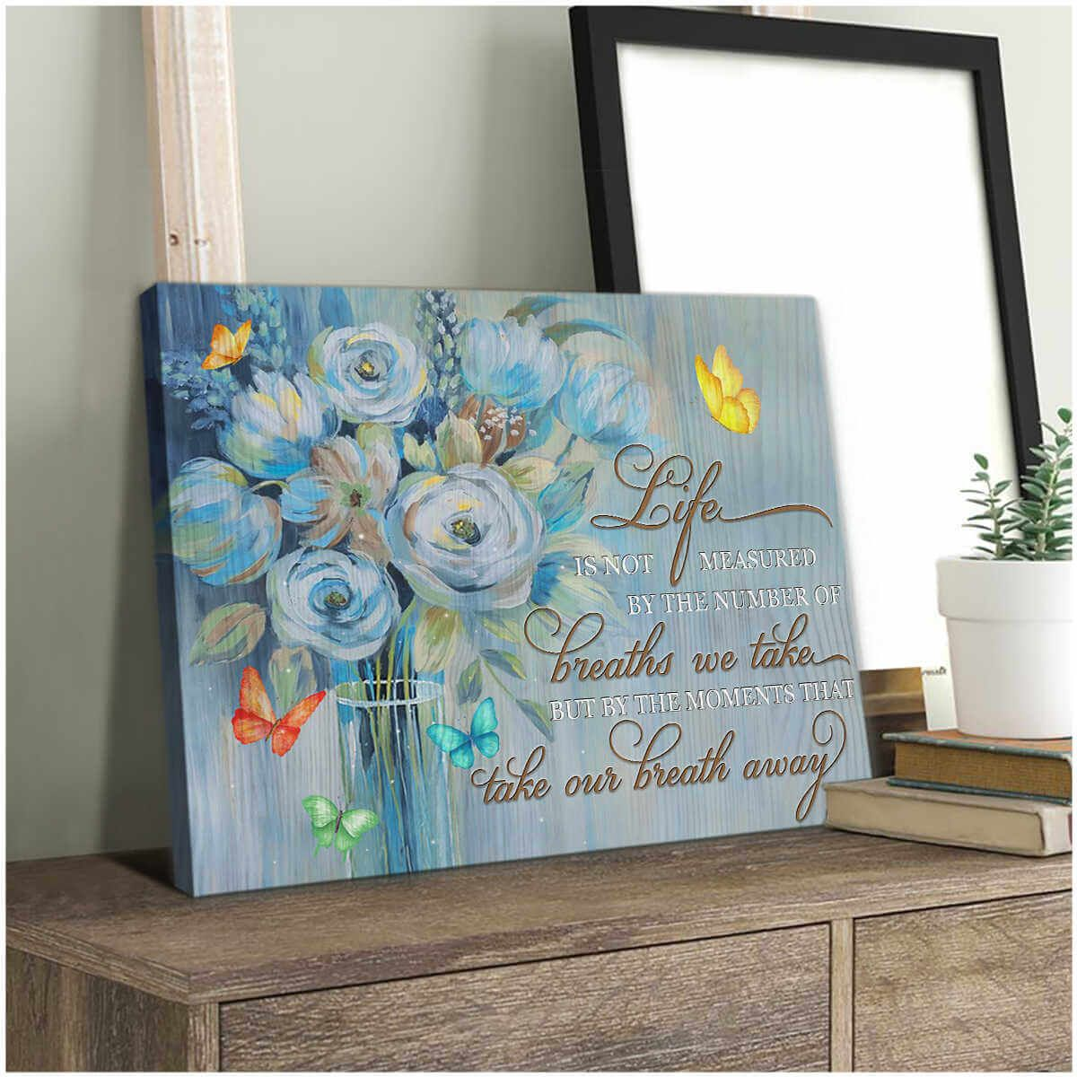 Pin By Oh Canvas On Butterfly Wall Art Canvas In 2020 Butterfly Wall Art Butterfly Canvas Gallery Wrap Canvas