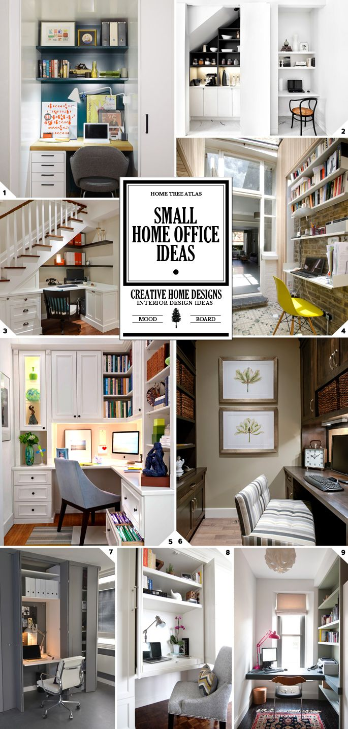 4 ways to maximize space in a small home office ideas and - Creating a small home office ...