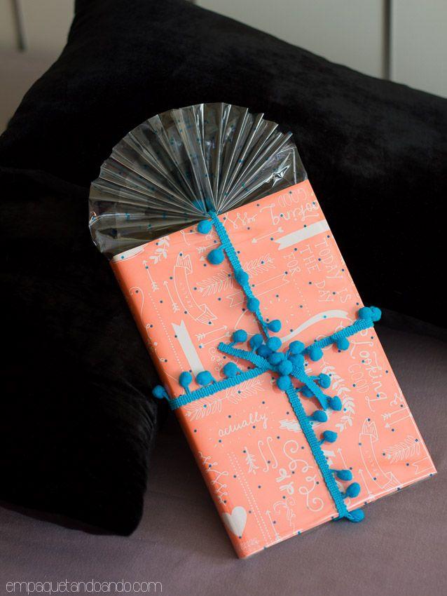Como envolver un libro para regalar envoltorios - Regalos envueltos originales ...