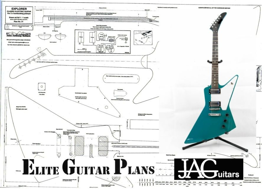 Elite Guitar Plans Store - John Anthony Guitars & Elite Guitar Plans ...