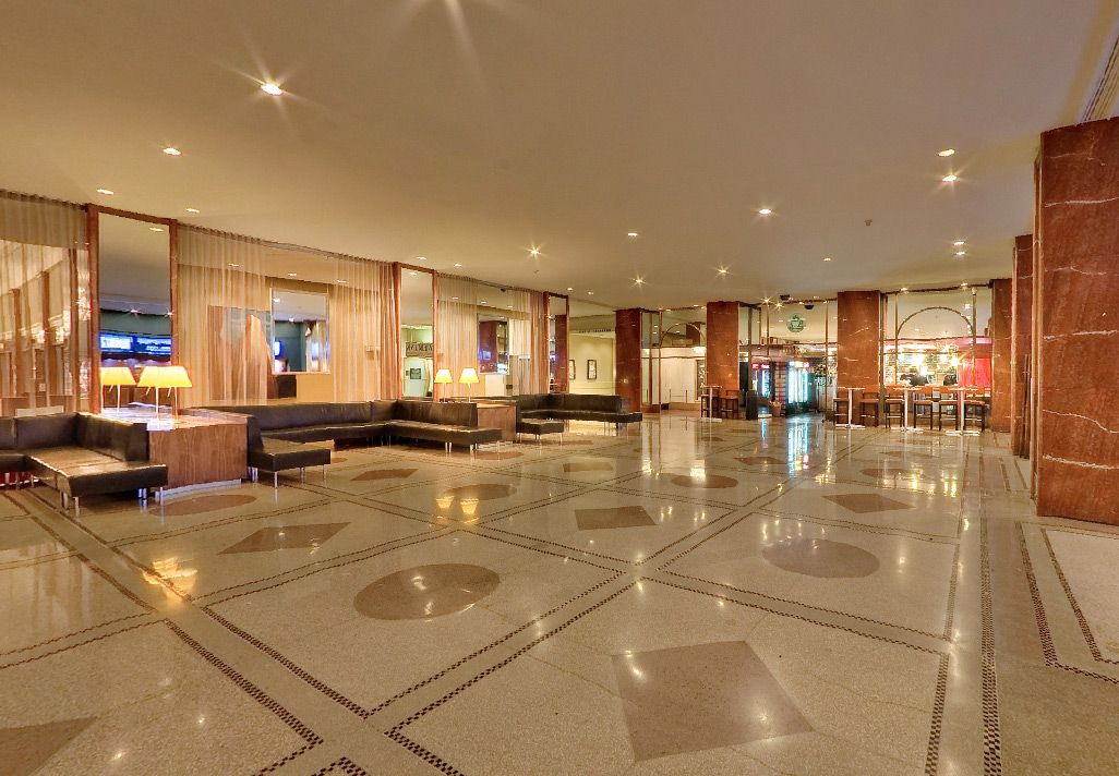 Hotel Pennsylvania New York Main Lobby One Block From The Famed Empire State Building