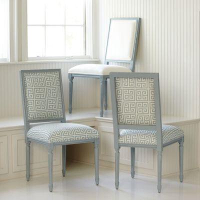 Square Louis Side Chair COM Lacquer | Ballard Designs