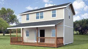 Clayton Yard Built From Lowes Shed Homes Shed Small House Kits
