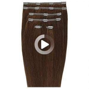Beauty Works Doppel Haar Set 18 Zoll Clip-in Haarverlängerungen (Verschiedene Farbtöne) –