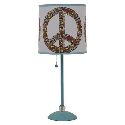 Peace sign lamp shade table lampopens in a new window toris room peace sign lamp shade table lampopens in a new window aloadofball Gallery