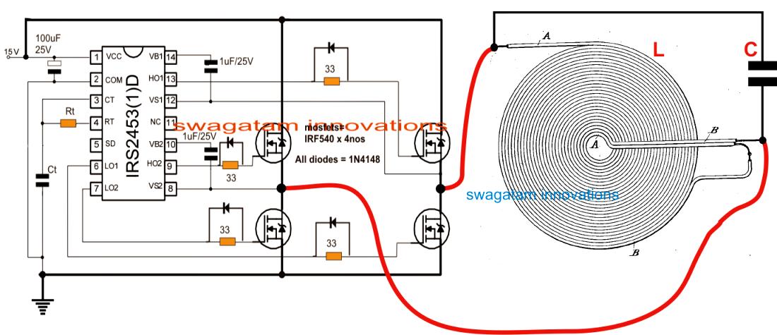Designing An Induction Heater Circuit Tutorial Induction Heating Circuit Projects Induction