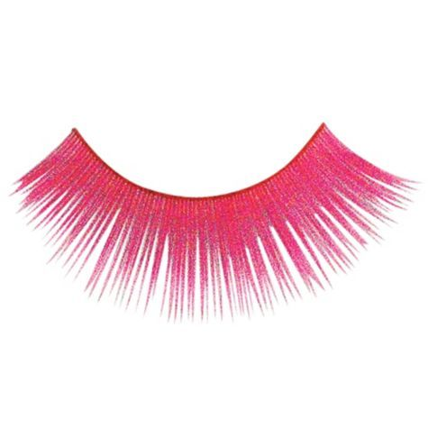 a552dc942ce Neon Pink False Eyelashes - Party City (@Ally Squires Pickford) totally