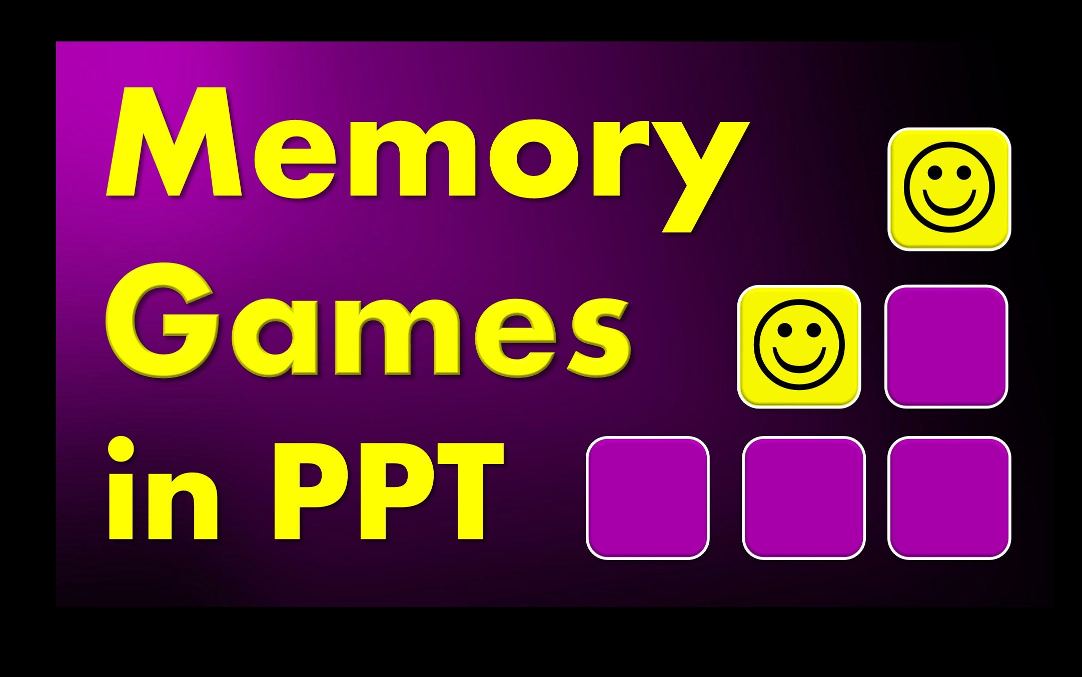 Memory Games And Quizzes In Powerpoint With Triggers Download And Tutorial Lagu