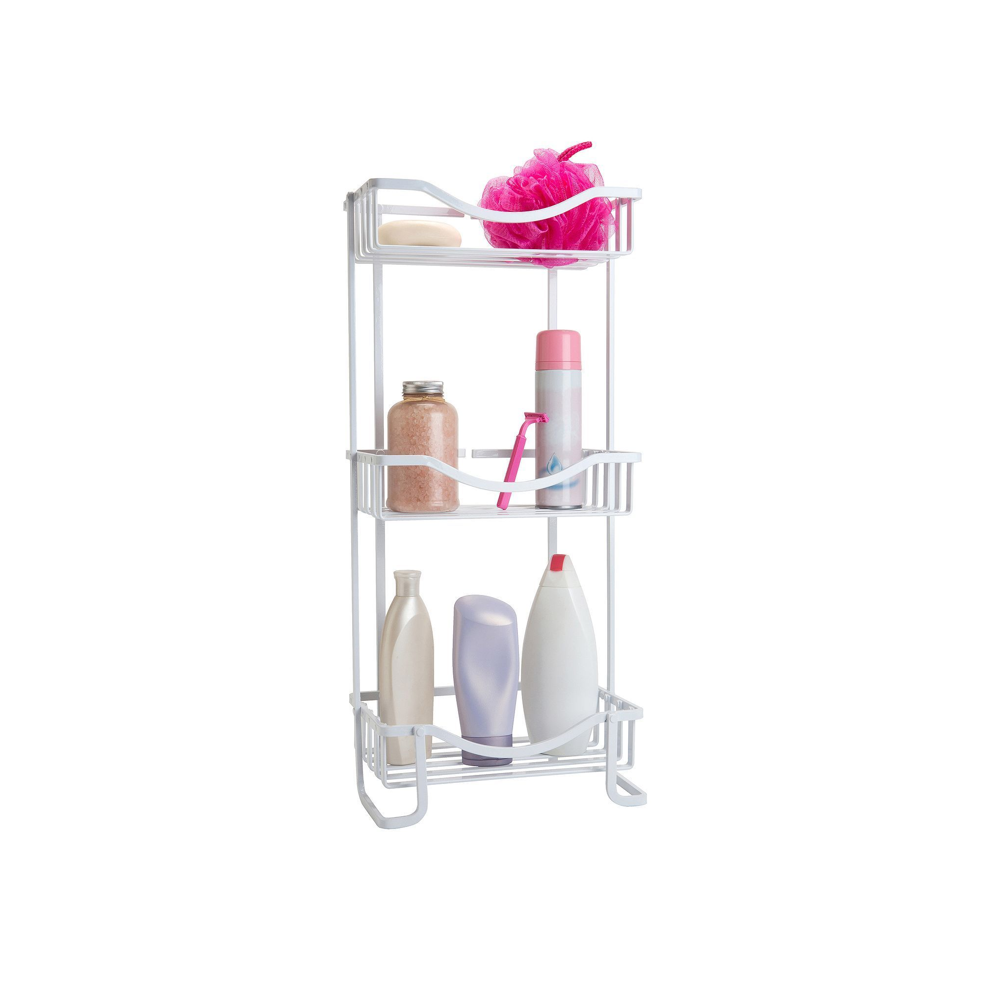 Bath Bliss Dip 3-Tier Spa Tower Stand, White | Products | Pinterest ...