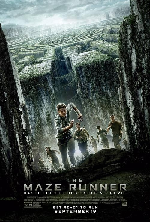 The Maze Runner Movie Poster. Loved the books and I'm really happy that Dylan O'Brien is in this movie!