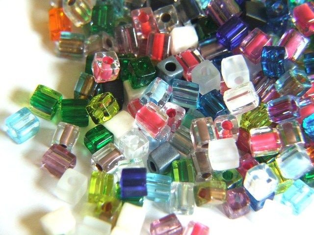 Japanese Miyuki cube beads  #BidOnTophatter
