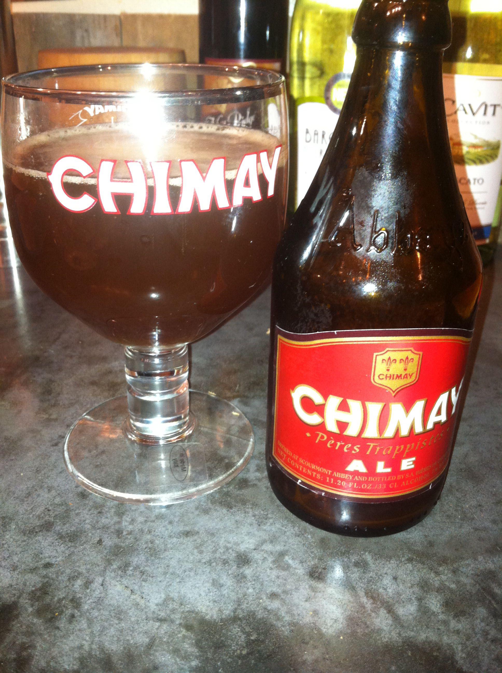 Chimay Red Beer Bottle Beer Bottle