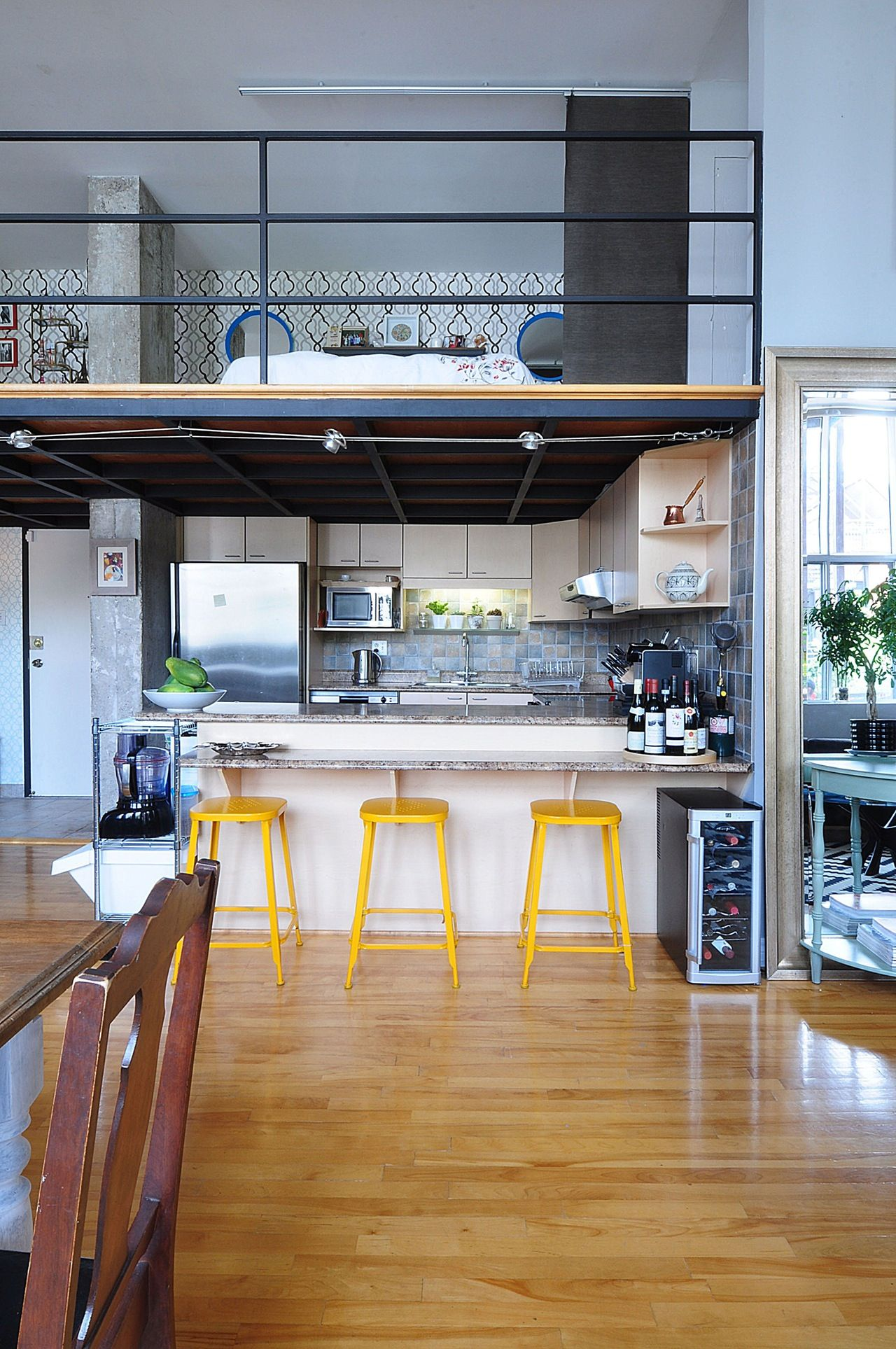 House Tour Patterned Industrial Style In Montreal Industrial