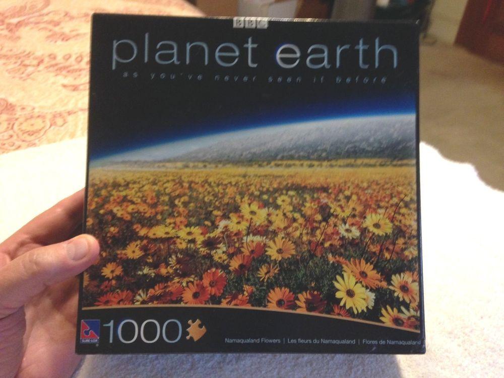 Planet Earth Namaqualand Flowers 1000