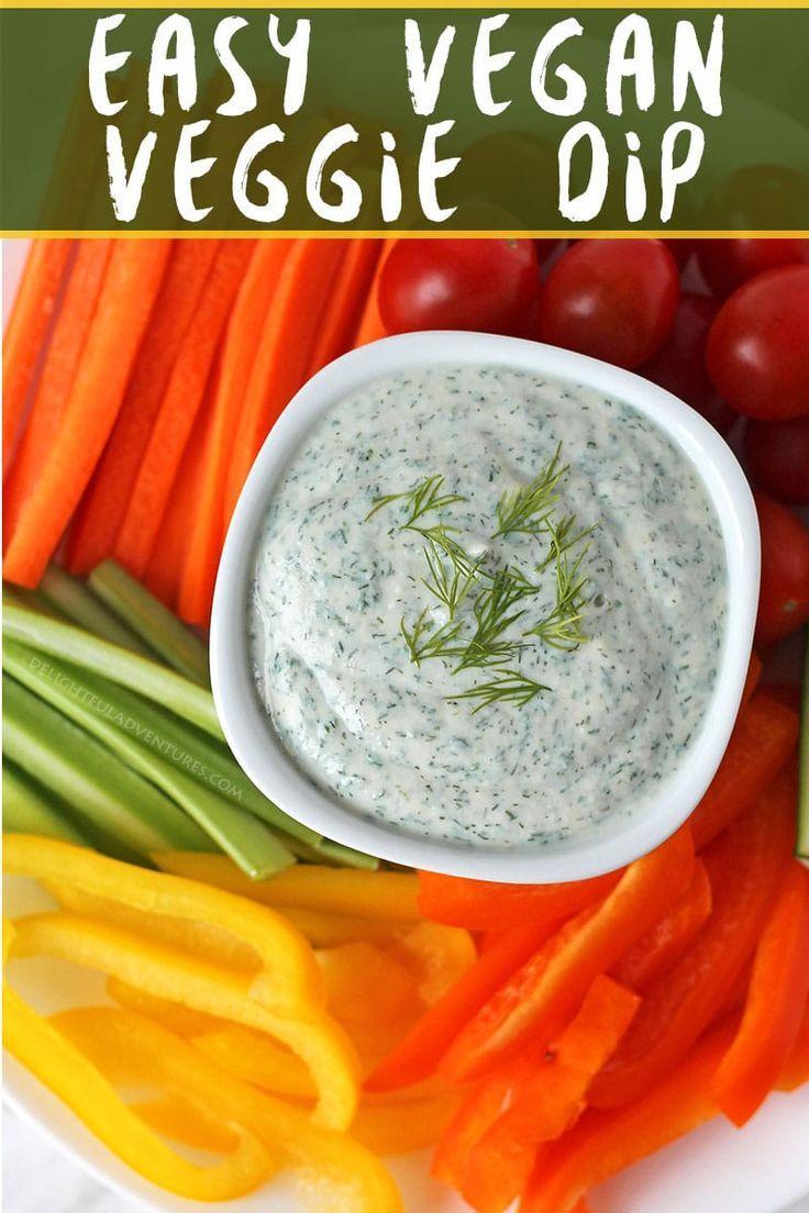 Vegan Veggie Dip Recipe With Images Veggie Dip Vegan Dip Recipes Dairy Free Veggie Dip