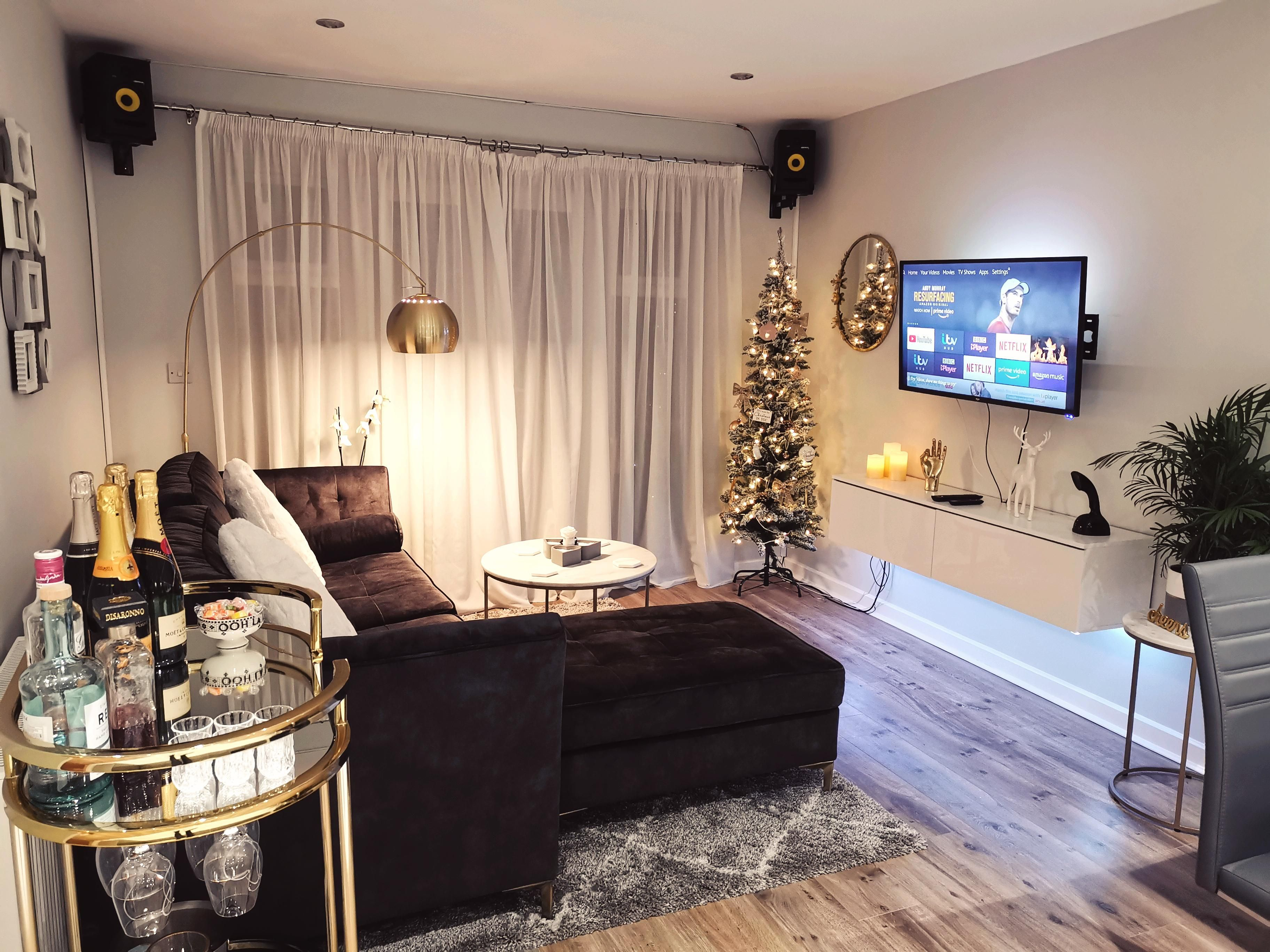 Mine And My Fiance S Small Apartment Living Room In Our First Home Together West Suss Small Apartment Living Small Apartment Living Room Apartment Living Room