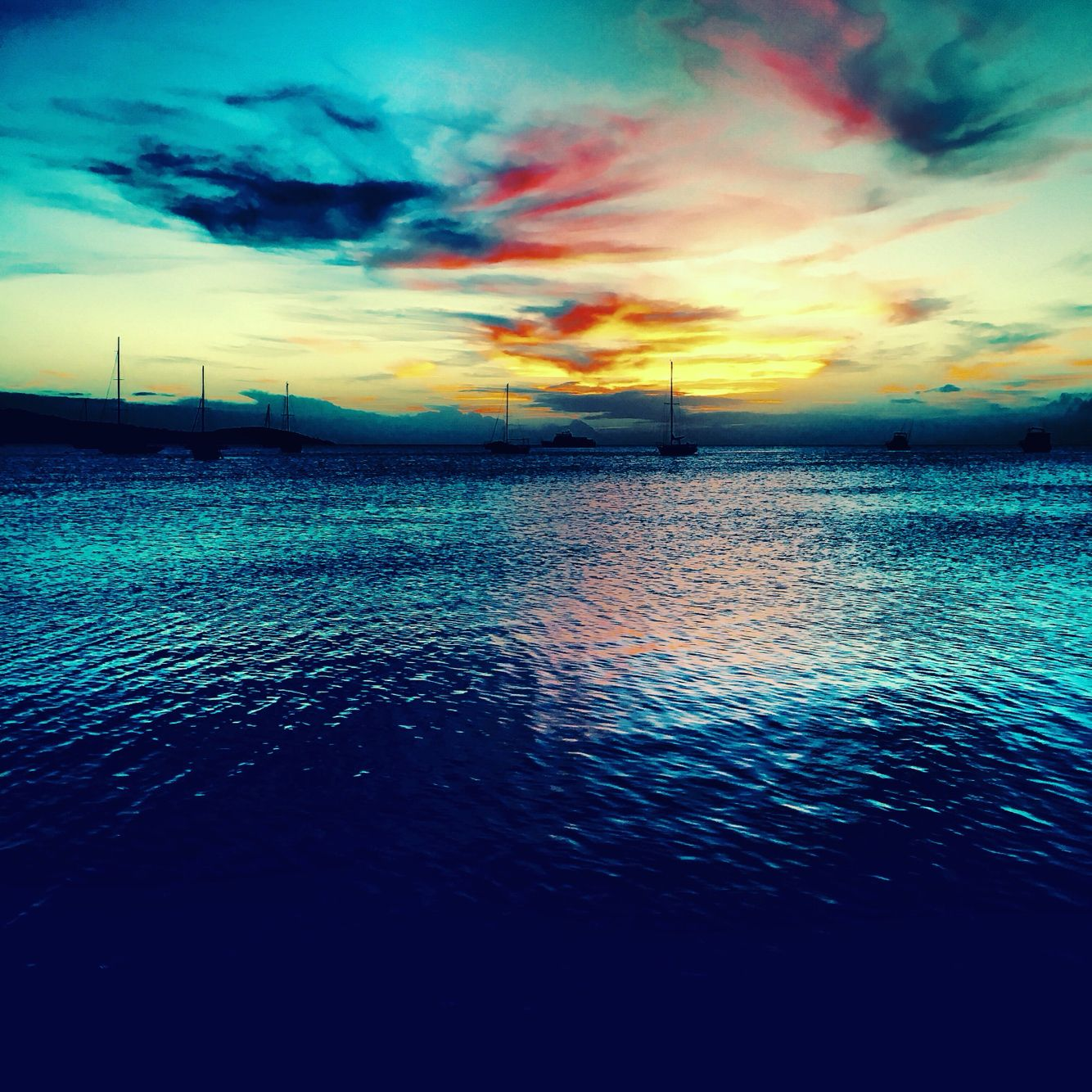 Sunset in Puerto rico By J. Reaper  Instagram @blacklotuspr