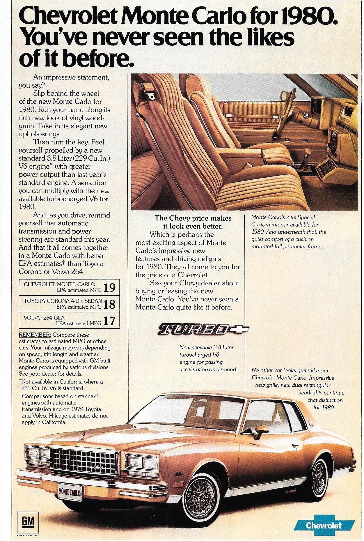 Pin By Jon Redmond On Nifty Old Cars Chevrolet Monte Carlo Car
