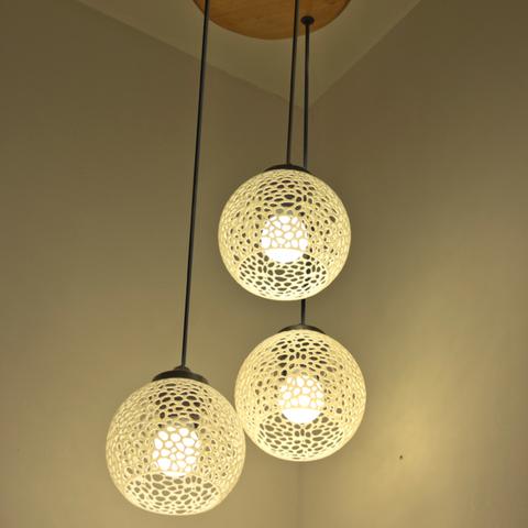 Christel Designer Lampe In 2020 Lampe 3d Drucker Lampen Und Leuchten