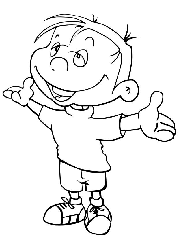 Explore Page Boy Kids Coloring Pages And More