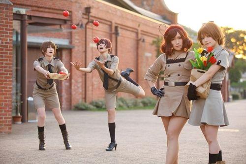 japan cosplay female Hetalia