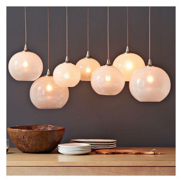 West Elm Gl Orb Chandelier Opal Lighting Light Fixtures Pendant Lights