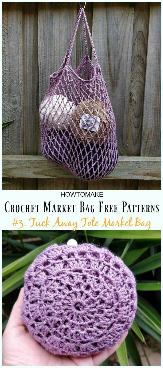 Crochet Market Bag Free Patterns Crochet And Knitting Pinterest