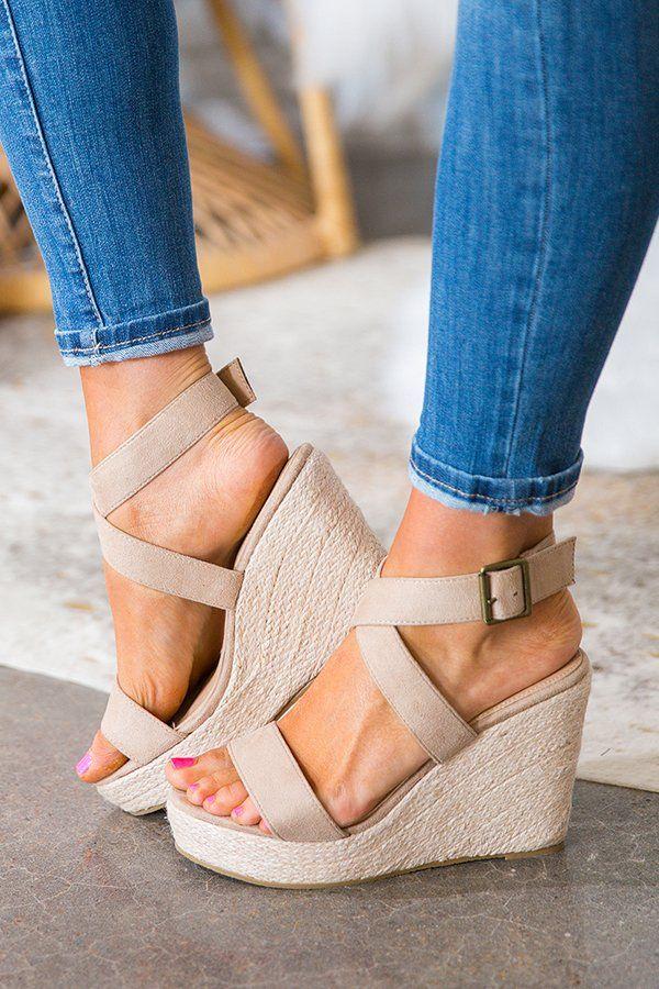 Wedge shoes, Women shoes