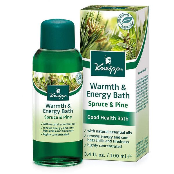 Kneipp Warmth & Energy Spruce Herbal Bath 3.4 oz ($20) ❤ liked on Polyvore