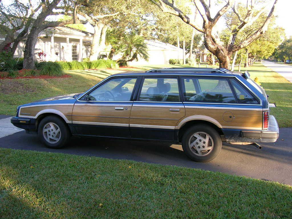 Pontiac 6000 Wagon Side View