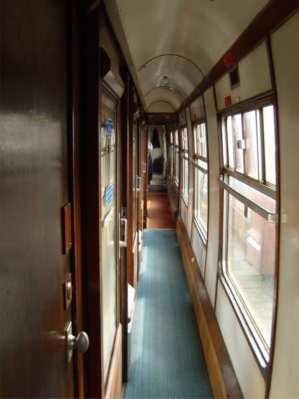 The Hogwarts Express corridor by StarRose17 on Dev