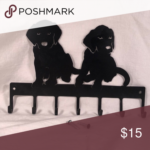 Black Lab Dog Wall Hooks With Hardware Black Labs Dogs Lab Dogs Black Lab