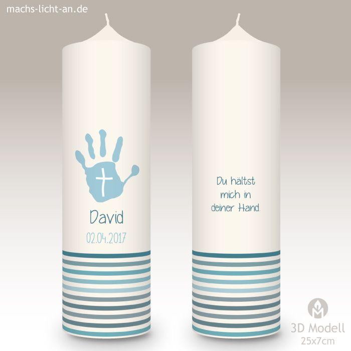 Taufkerze Mla David Moosmutzel Kommunionkerze Taufkerze