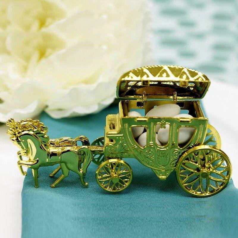 12 pack gold cinderella carriage cinderella carriage