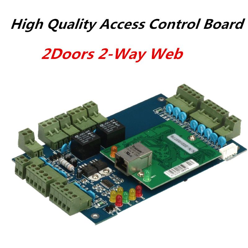 TCP/IP Wiegand Access Control Board RFID Card Door Access Controller