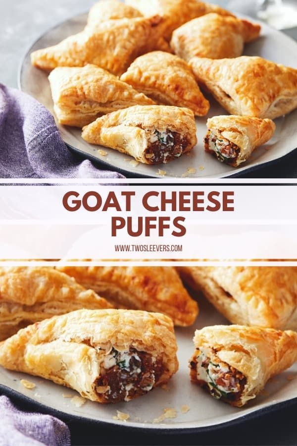 Goat Cheese Puffs | Simple, Quick and Elegant Appetizer