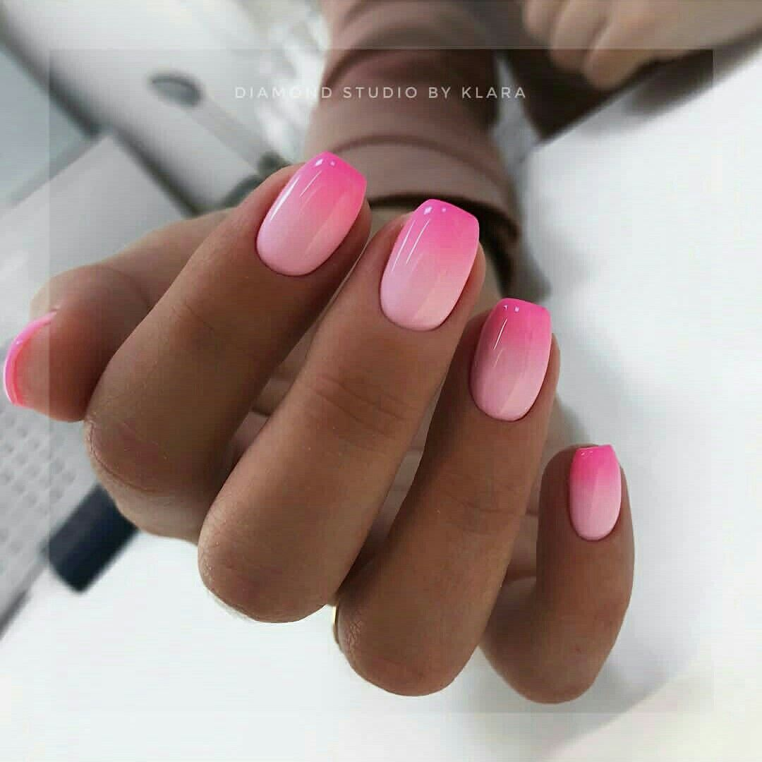 Dark Pink Light Pink Nail Pink Ombre Nails Nail Designs Pictures Ombre Nails